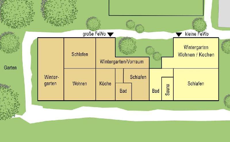 Lageplan Wohnungen
