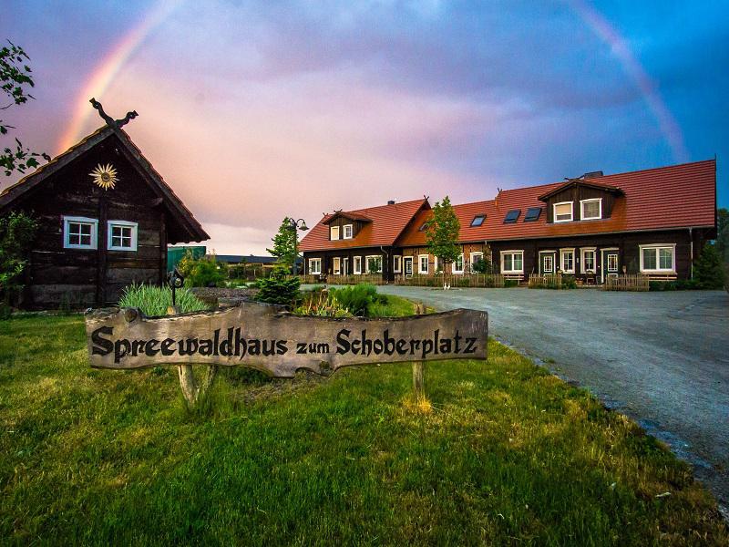 Spreewaldhaus zum Schoberplatz Vorderansicht