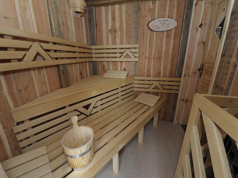 Auszeit in der hauseigenen Sauna
