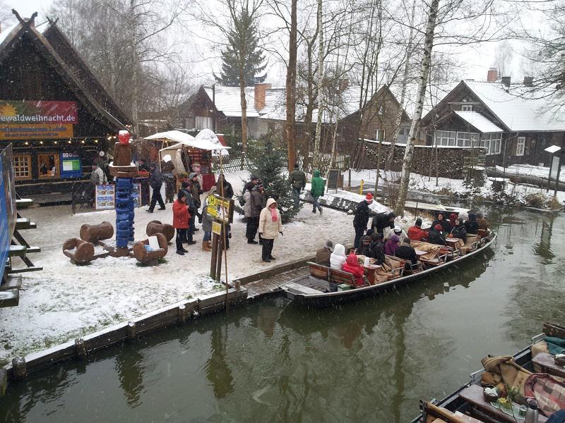 Spreewaldweihnacht in Lehde