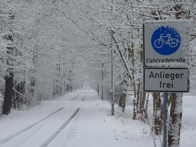 Aktive Erholung im Winterurlaub beim Wandern im Spreewald