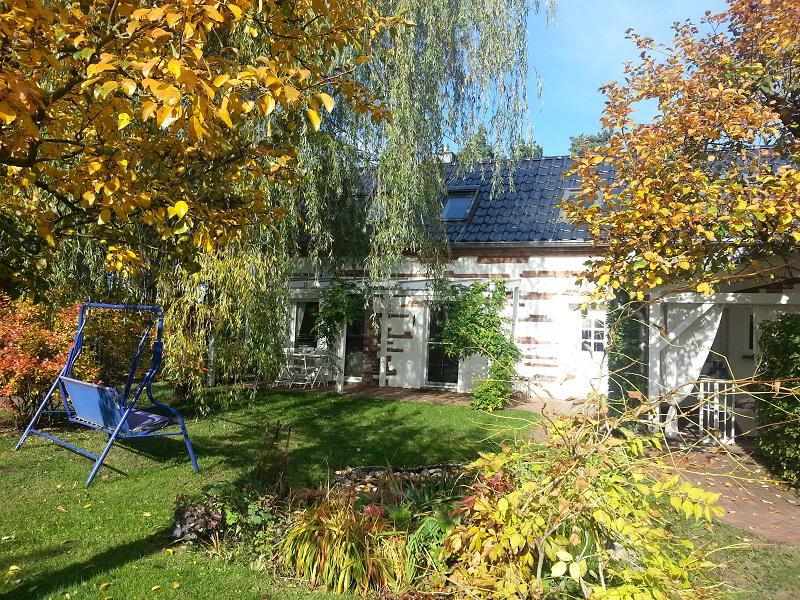 Scheunenhaus Kienspan im Herbst