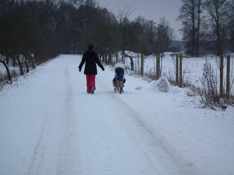Winter in Schlepzig
