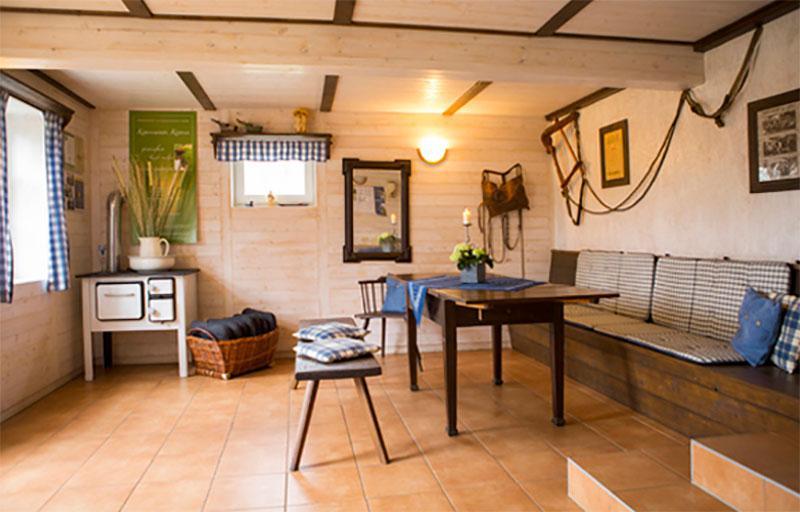 Wohnraum im Haus Kalmus