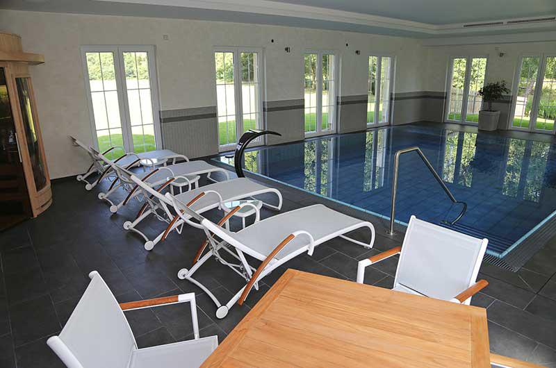 Pool in der Pension