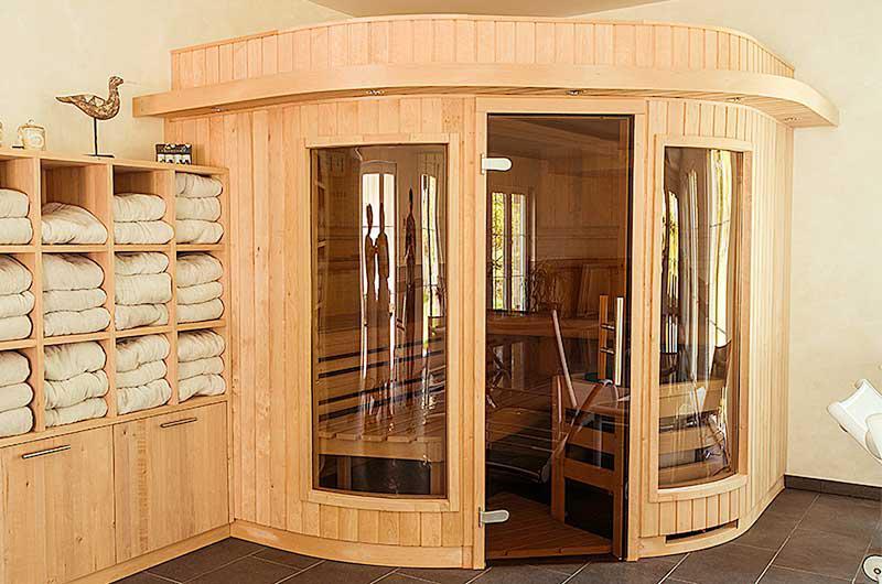 Sauna in der Pension