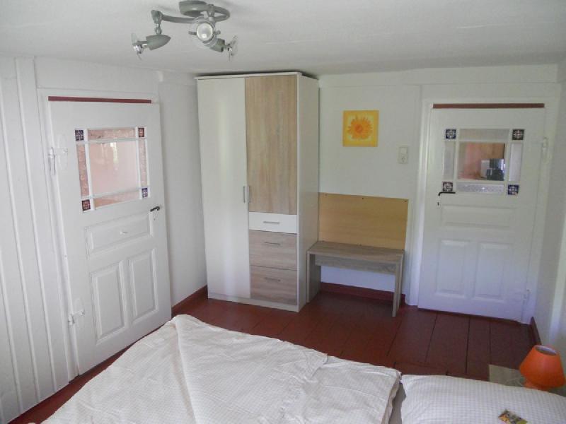 Spreewaldhaus Yellow - Schlafzimmer