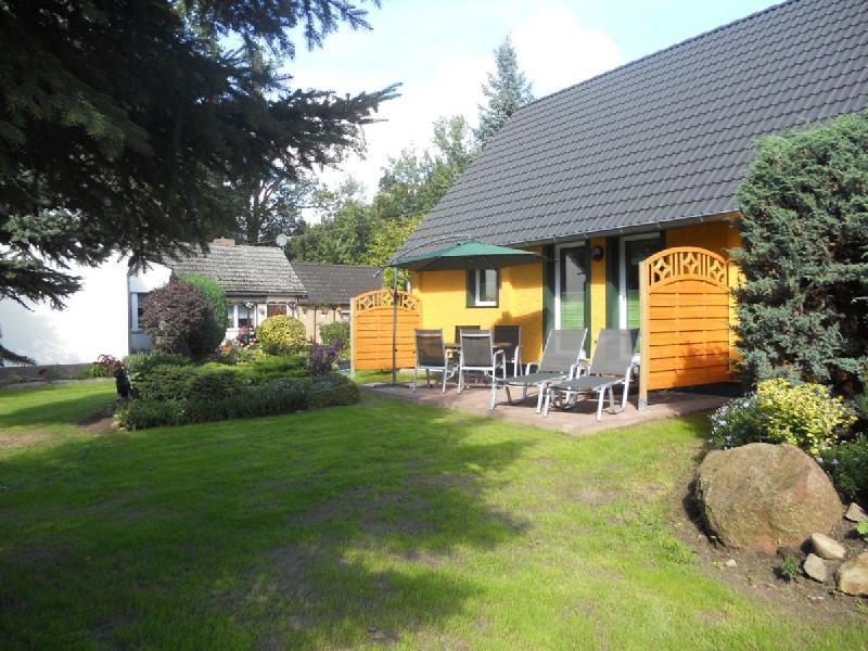 Spreewaldhaus Yellow - Liegewiese