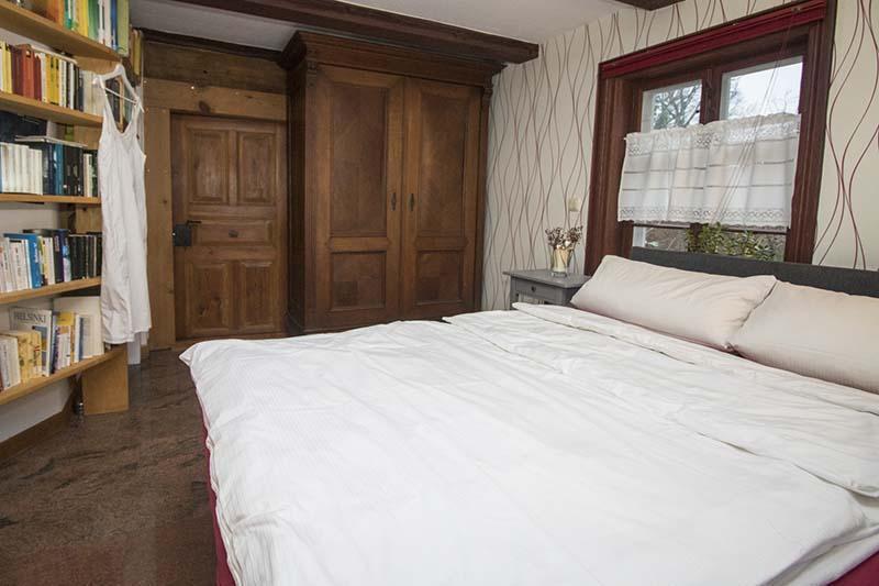 Hexenhaus - Eingang am Schlafzimmer im Erdgeschoss